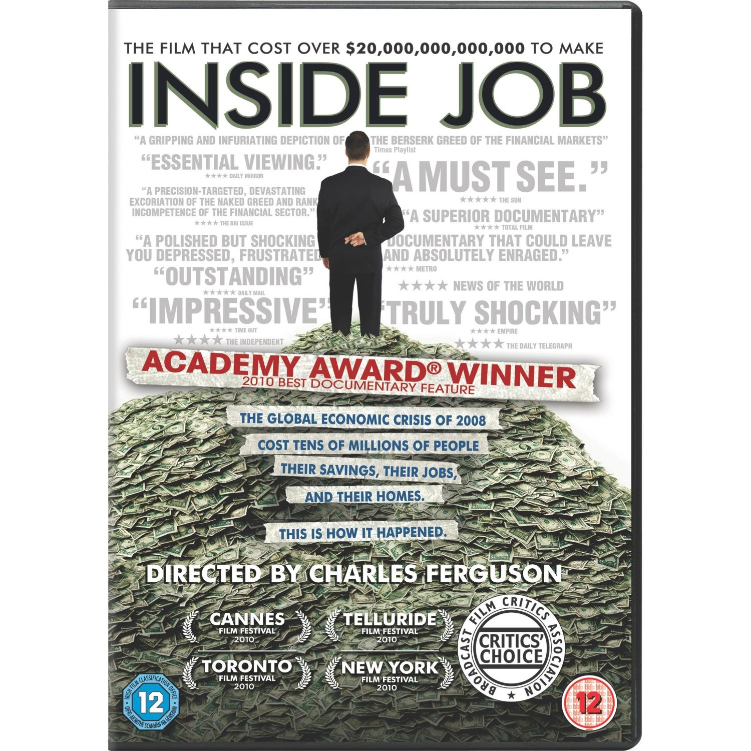 "inside job essay When can we expect the book of essays this one i am taking the time to send to a large list of correspondents  has ""inside job""-it might not be ."