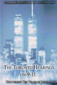 Toronot Hearings DVD cover